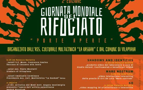 GIORNATA MONDIALE DEL RIFUGIATO 2019