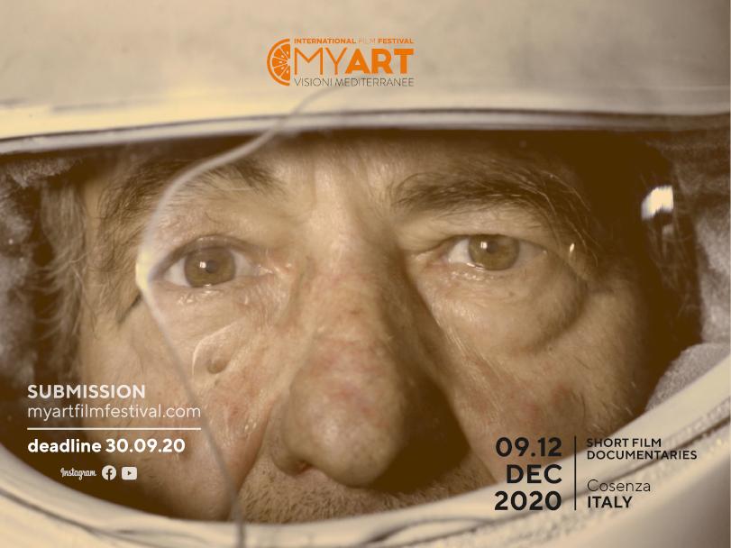 Prorogate le iscrizioni al MyArt Film Festival 2020. Documentari e corti possono essere presentati ancora fino al 30 Settembre