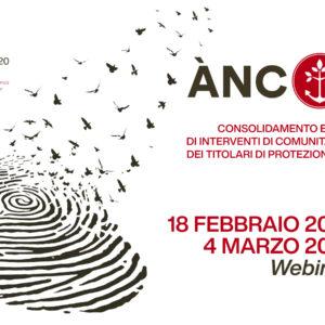 PROGETTO ÀNCORA 2.0 | Consolidamento e modellizzazione di interventi di comunità per l'autonomia dei titolari di protezione internazionale | WEBINAR