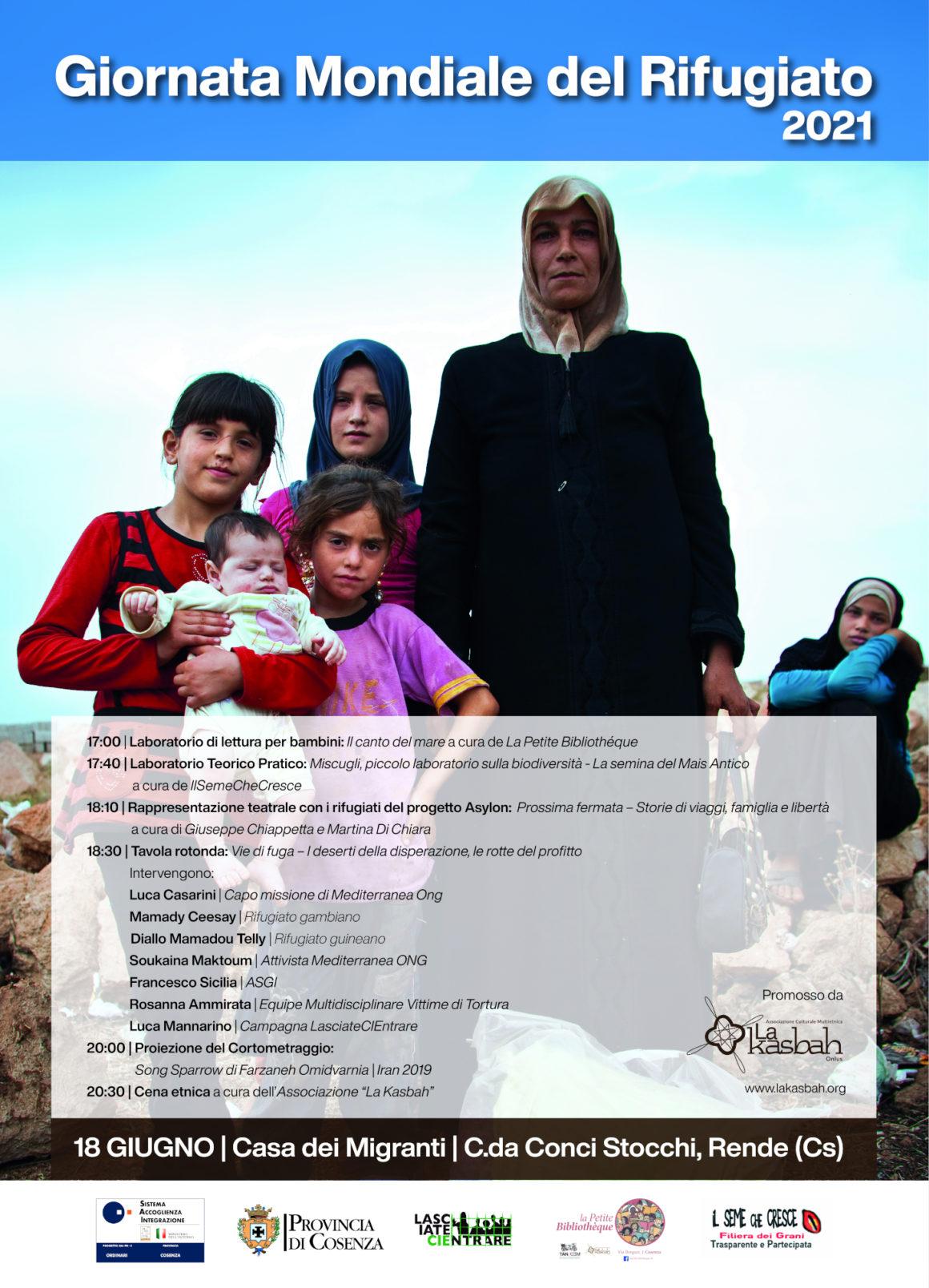 Giornata Mondiale del Rifugiato 2021